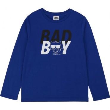 Longsleeve dla chłopca Karl Lagerfeld 003972