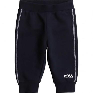 Sportowe spodnie dla malucha Hugo Boss 003983 A