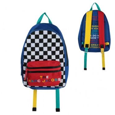 Kolorowy plecak szkolny The Marc Jacobs 003984 a