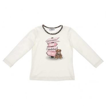 Koszulka dla dziewczynki Monnalisa 003989 a