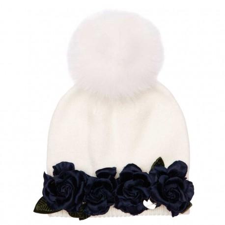 Ciepła czapka dziewczęca Monnalisa 003998 a