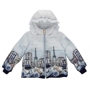 Zimowa kurtka dla dziewczynki Monnalisa 003999