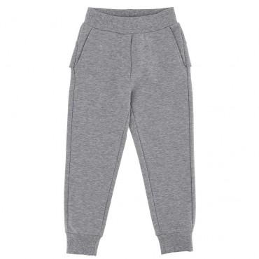Sportowe spodnie dla dziewczynki Monnalisa 004000 A