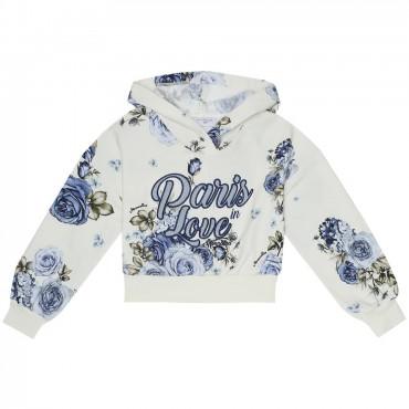 Krótka bluza dla dziewczynki Monnalisa 004002