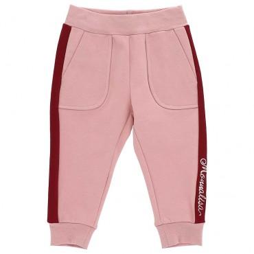 Sportowe spodnie dla niemowlaka Monnalisa 004008 A