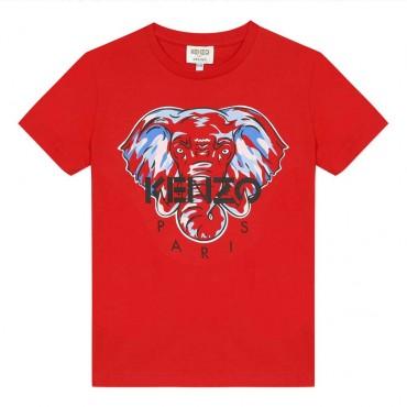T-shirt dla dziecka organic cotton Kenzo 004023