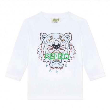 Niemowlęce koszulki z Tygrysem Kenzo 004032 a