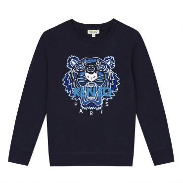 Granatowa bluza chłopięca Kenzo Kidswear 004033 a