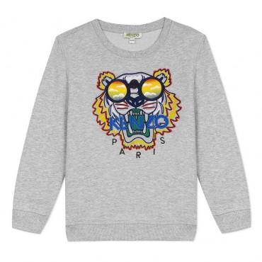 Bluza dla dziecka z tygrysem Kenzo Kidswear 004035 A