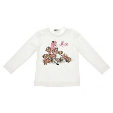 Dziewczęca koszulka Alicja Monnalisa 004047