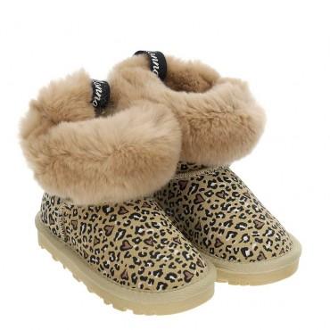Zimowe buty dla dziewczynki Monnalisa 004050 a