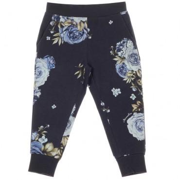 Sportowe spodnie dla dziewczynek Monnalisa 004060 A