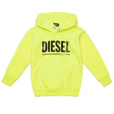 Jaskrawożółta bluza dla dziecka Diesel 004071