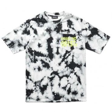 Tie-dye t-shirt dla dziecka Diesel 004077 a