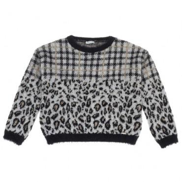 Sweter dziecięcy z alpaką Liu Jo 004089 a