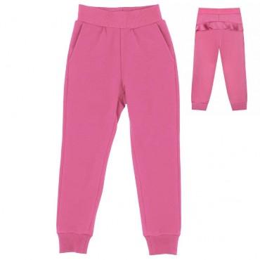 Dresowe spodnie dziewczęce Monnalisa 004001 A