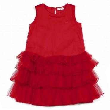 Tiulowa sukienka dla dziewczynki Monnalisa 004103 a