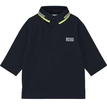 Niemowlęca koszulka polo Hugo Boss 004121
