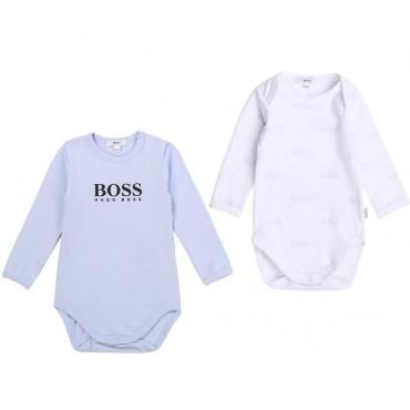 Body niemowlęce zestaw 2 szt Hugo Boss 004126