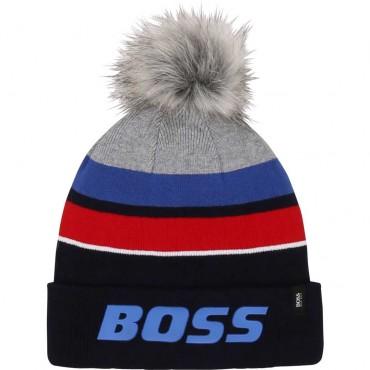 Zimowa czapka dla chłopca Hugo Boss 004131 a