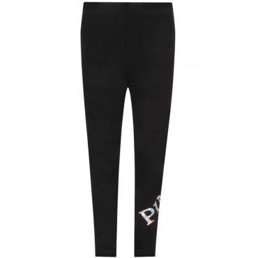 Czarne legginsy dla nastolatki Pinko Up 004143 a