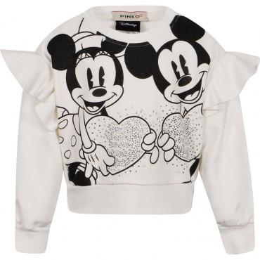 Bluzy dla dziewczynek z falbanami Pinko Up 004139 a