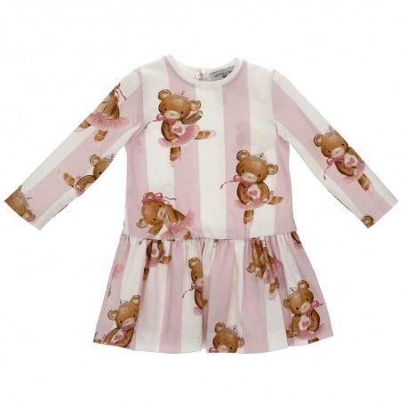 Bawełniana sukienka niemowlęca Monnalisa 004151 a