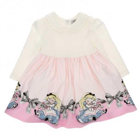 Wizytowa sukienka niemowlęca Monnalisa 004152 a