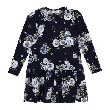 Sukienka dziewczęca w kwiaty Monnalisa 004153 a