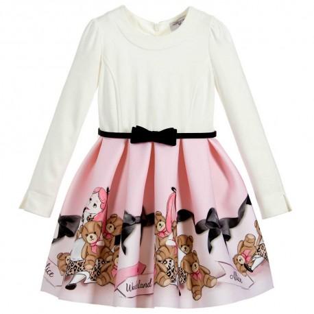 Bajkowa sukienka dla dziewczynki Monnalisa 004156 a