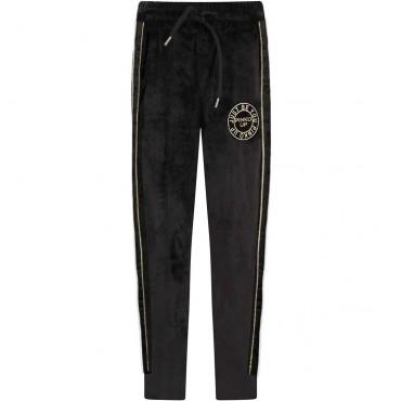Czarne spodnie dla dziewczynki Pinko Up 004159 A