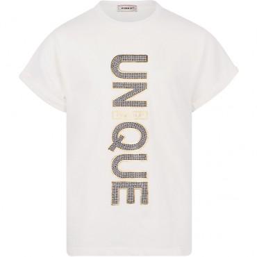 T-shirt dla nastolatki Pinko Up Unique 004161 A