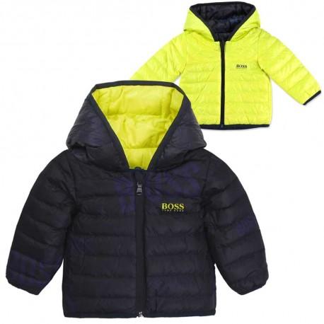 Puchowa kurtka dla niemowlęcia Hugo Boss 004164 a