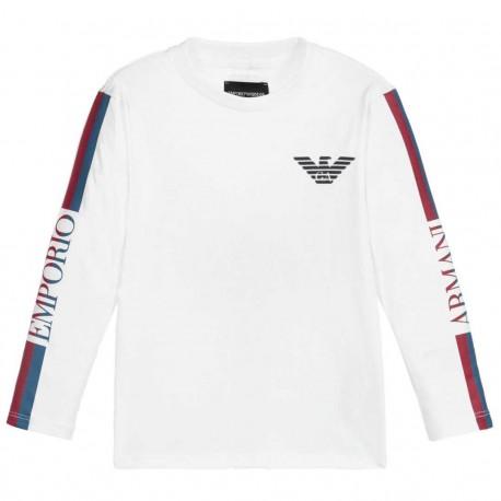 Koszulki chłopięce - ubrania dla dzieci Emporio Armani 004178