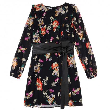 Wizytowe sukienki dziewczęce z wiskozy - sklep z ubraniami dla dzieci  Liu Jo 004183 A