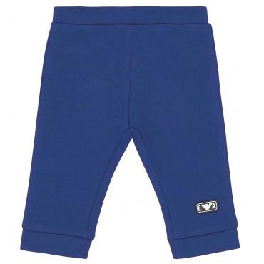 Niebieskie spodnie niemowlęce Armani 004186