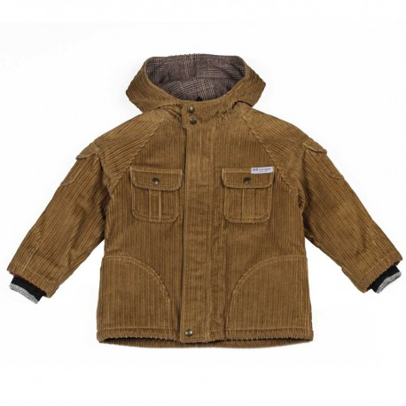 Sztruksowa kurtka chłopięca - ubrania dla dzieci D&G 004191 a