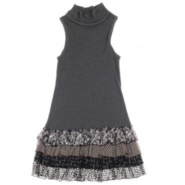 Sukienka dziewczęca bez rękawów Monnalisa 004194