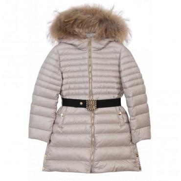 Płaszcz puchowy dla dziewczynki Liu Jo 004200