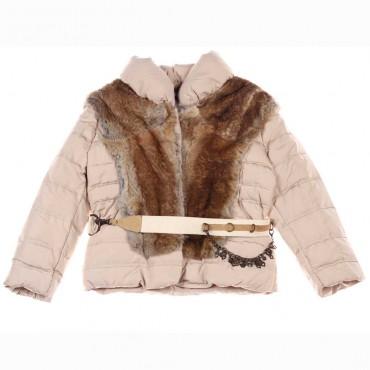 Dziewczęca kurtka puchowa Ermanno Scervino 004205 A