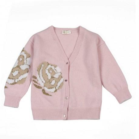 Kardigan dla dziewczynki Monnalisa 004212 A - odzież dla dzieci