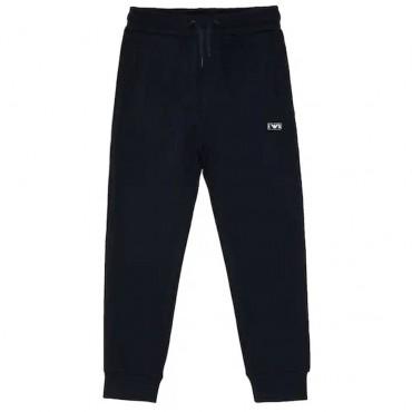 Granatowe spodnie dla chłopca Armani 004216 A - ubrania dla dzieci