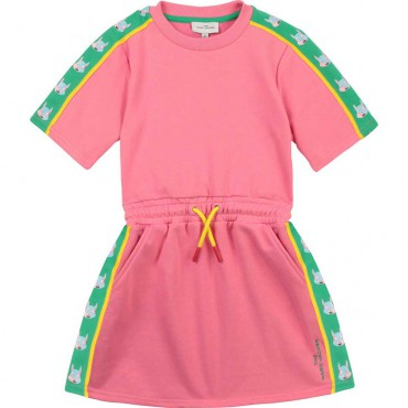 Sukienka dla dziewczynki The Marc Jacobs 004225 A - sklep z ubraniami dla dzieci - euroyoung
