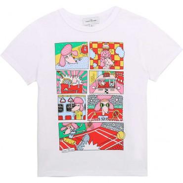 T-shirt dla dziecka The Marc Jacobs 004229 a - sklep z ubrankami dla dzieci i niemowląt