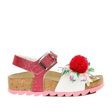Profilowane sandałki dziewczęce Monnalisa 004237