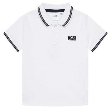Koszulka polo dla małego chłopca Hugo Boss 004238