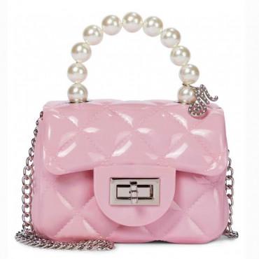 Elegancka torebka dla dziewczynki Monnalisa 004270 - ubranka, obuwie i akcesoria dla dzieci - sklep internetowy