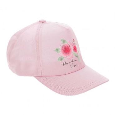Czapka bejsbolówka dla dziewczyny Monnalisa 004271 - czapki dla dzieci - sklep internetowy