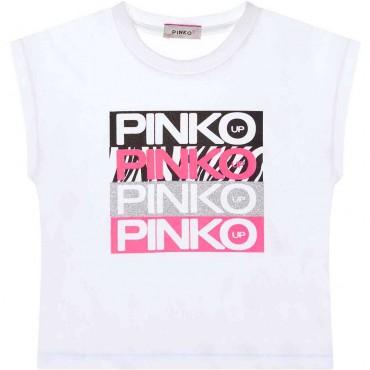 Dziecięca koszulka z nadrukiem Pinko Up 004276