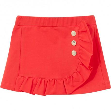 Czerwona spódniczka dla dziewczynki Liu Jo 004308 - ubranka dla dzieci - sklep internetowy euroyoung.pl